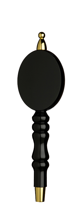 Black Runner Tap Handle