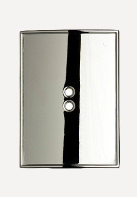 Silver Rectangle Shield