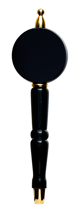 Black Round Wonder Tap Handle