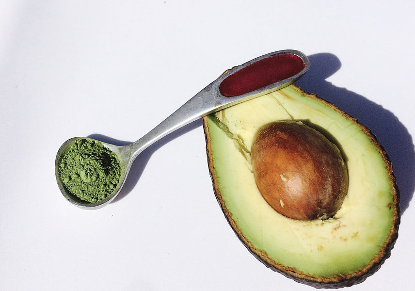 Avocado and Matcha Face Mask