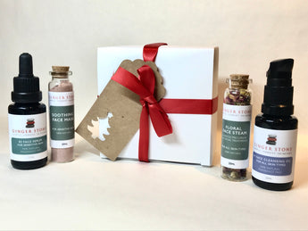 Face Oil Gift Box for Sensitive Skin