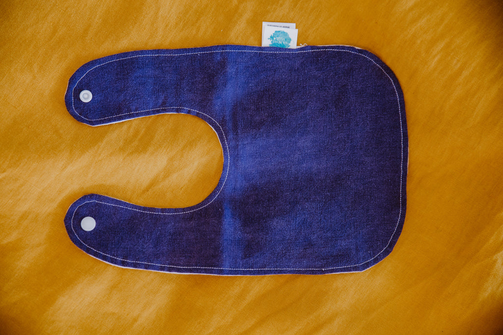 Denim Blue Traditional Bib