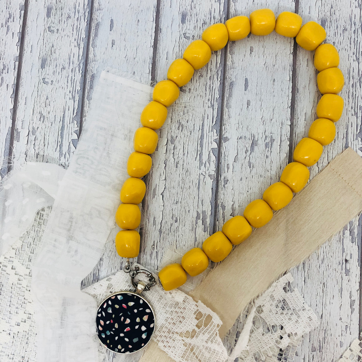 Yellow Essential Necklace