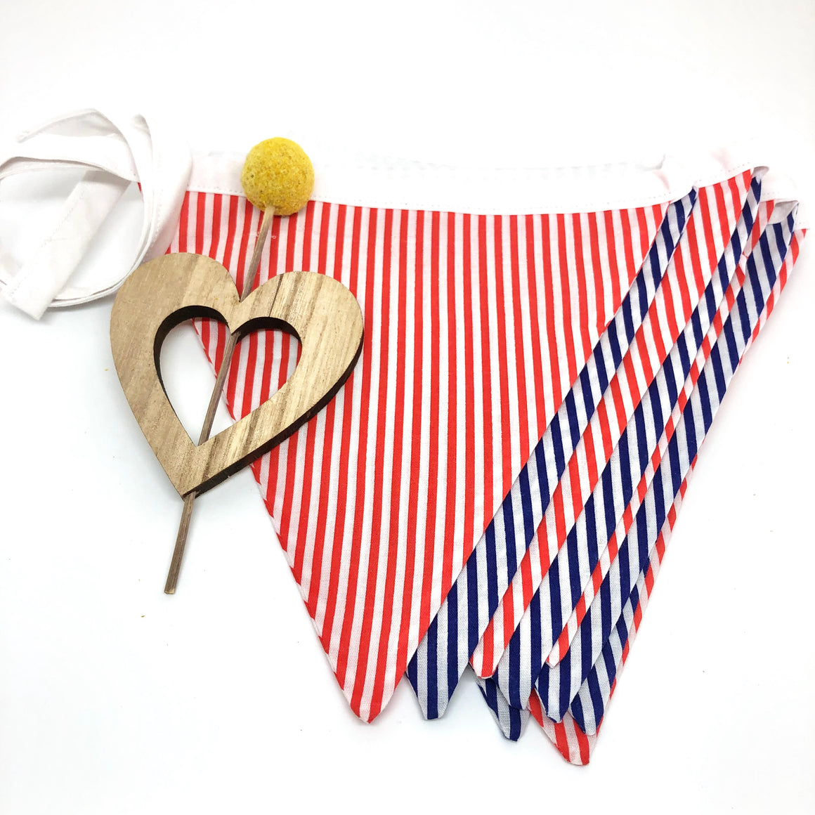 Candy Stripe Bunting