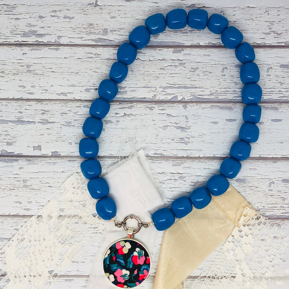 Blue Essential Necklace