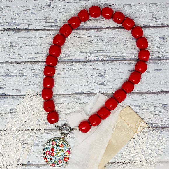 Red Essential Necklace