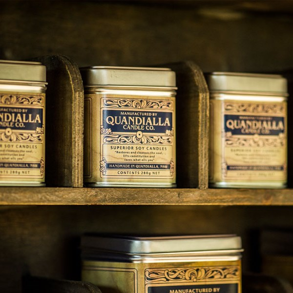 Wattle and Twine - Quandialla Candle Co. Hand Poured Soy Candles