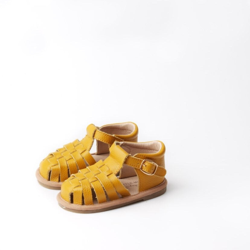 Daisy Leather Sandal