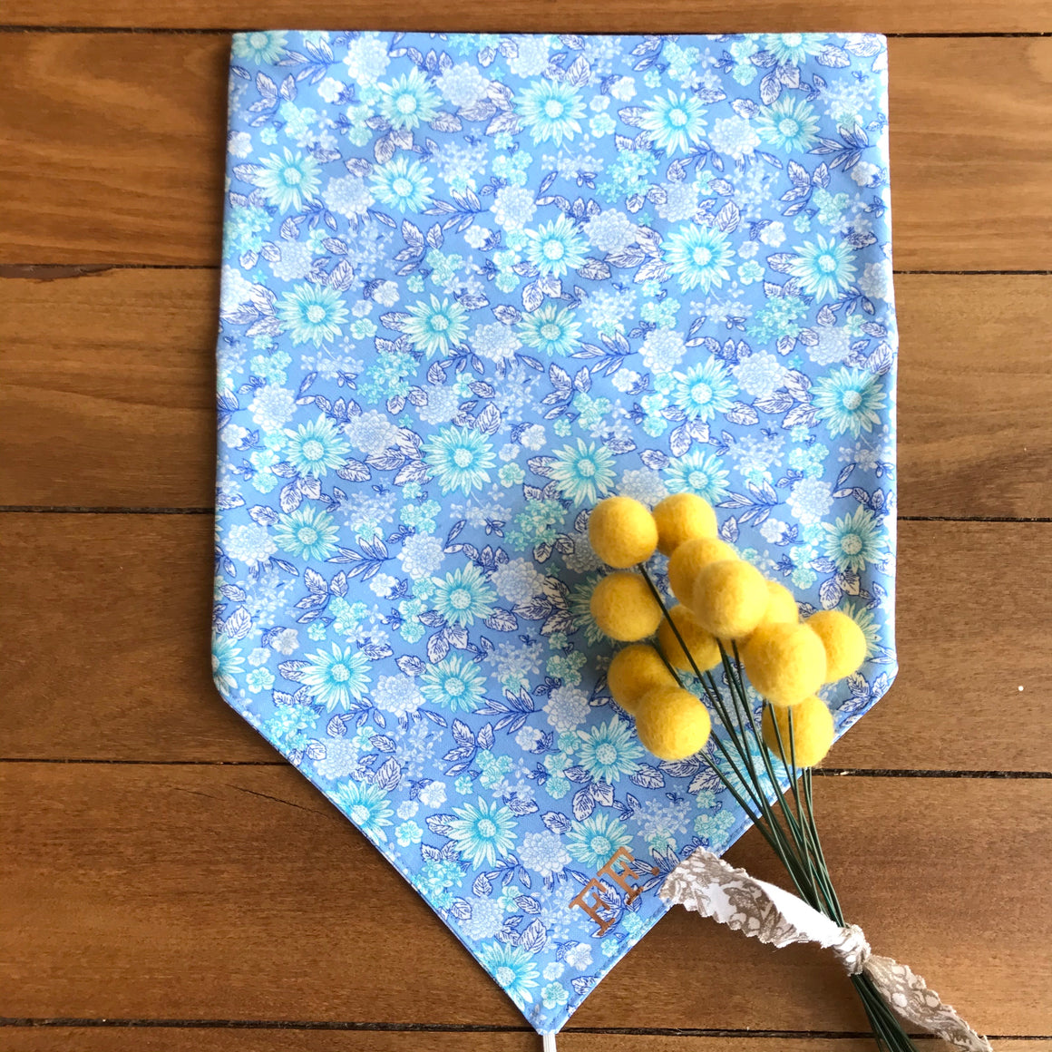 Baby Blue Liberty Scarf
