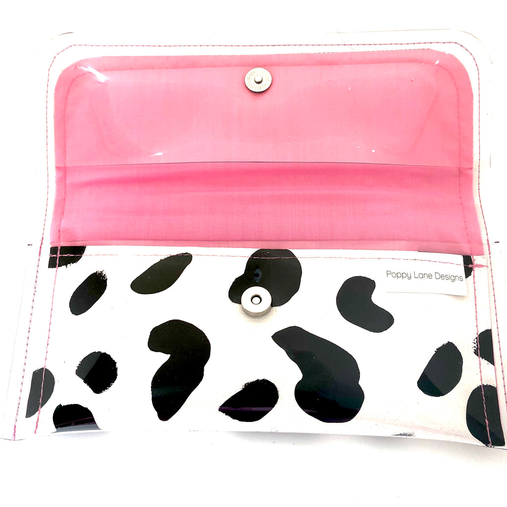 Mini Clutch - Cow Print