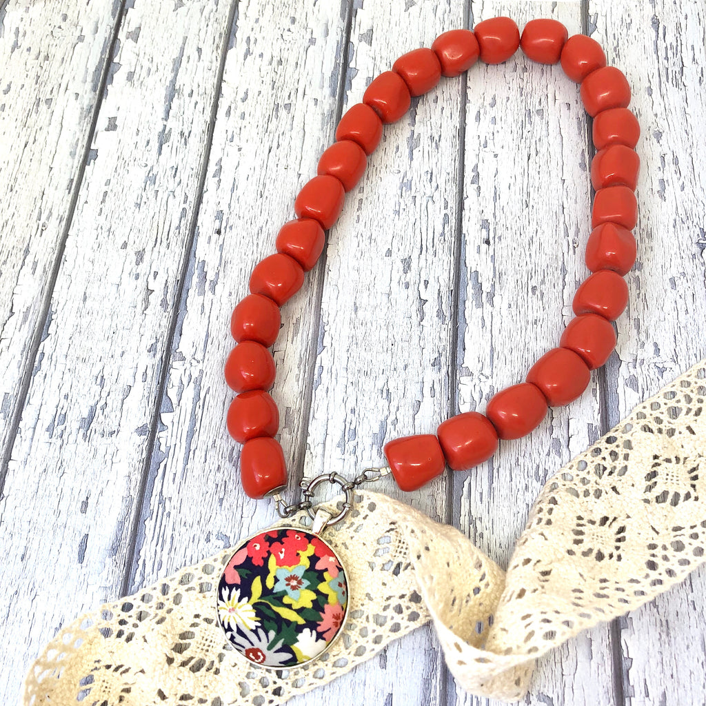 Orange Essential Necklace
