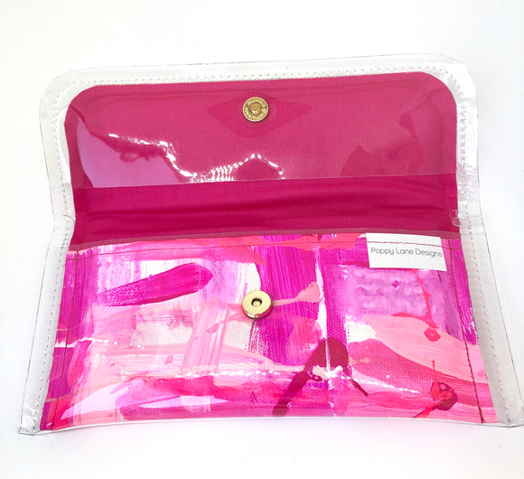 Mini Clutch - Pink Pop