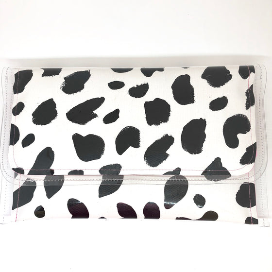 Large Clutch - Cow Print