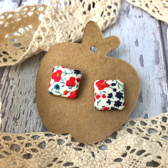 """Grace"" Fabric Stud"
