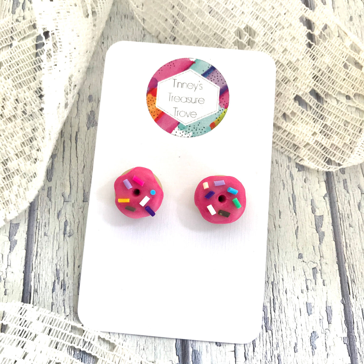 Wattle and Twine - Tinney Treasure Trove Donut Earrings