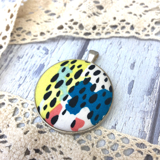 Abstract Splotch Pendant