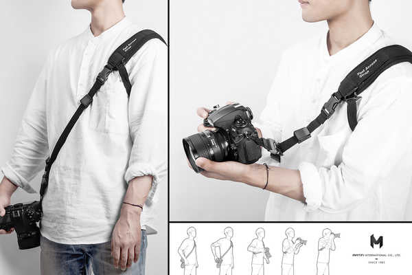 MATIN Fast Access Camera Strap 3