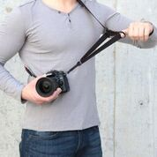 Artisan & Artist ACAM-E38R Wide Easy Slider Neck Camera Strap with Ring Attachment