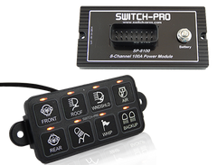 Switch-Pros SP-8100 8-Switch Panel Power System