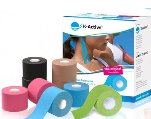 Kinesiology tape K-Active 5x5 cm