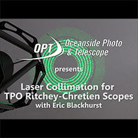 Laser Collimation for TPO Ritchey-Chretien Scopes