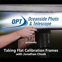 Taking Flat Calibration Frames for Better Image Processing