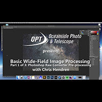 Basic Wide-Field Image Processing with Chris Hendren (Part 1/3)