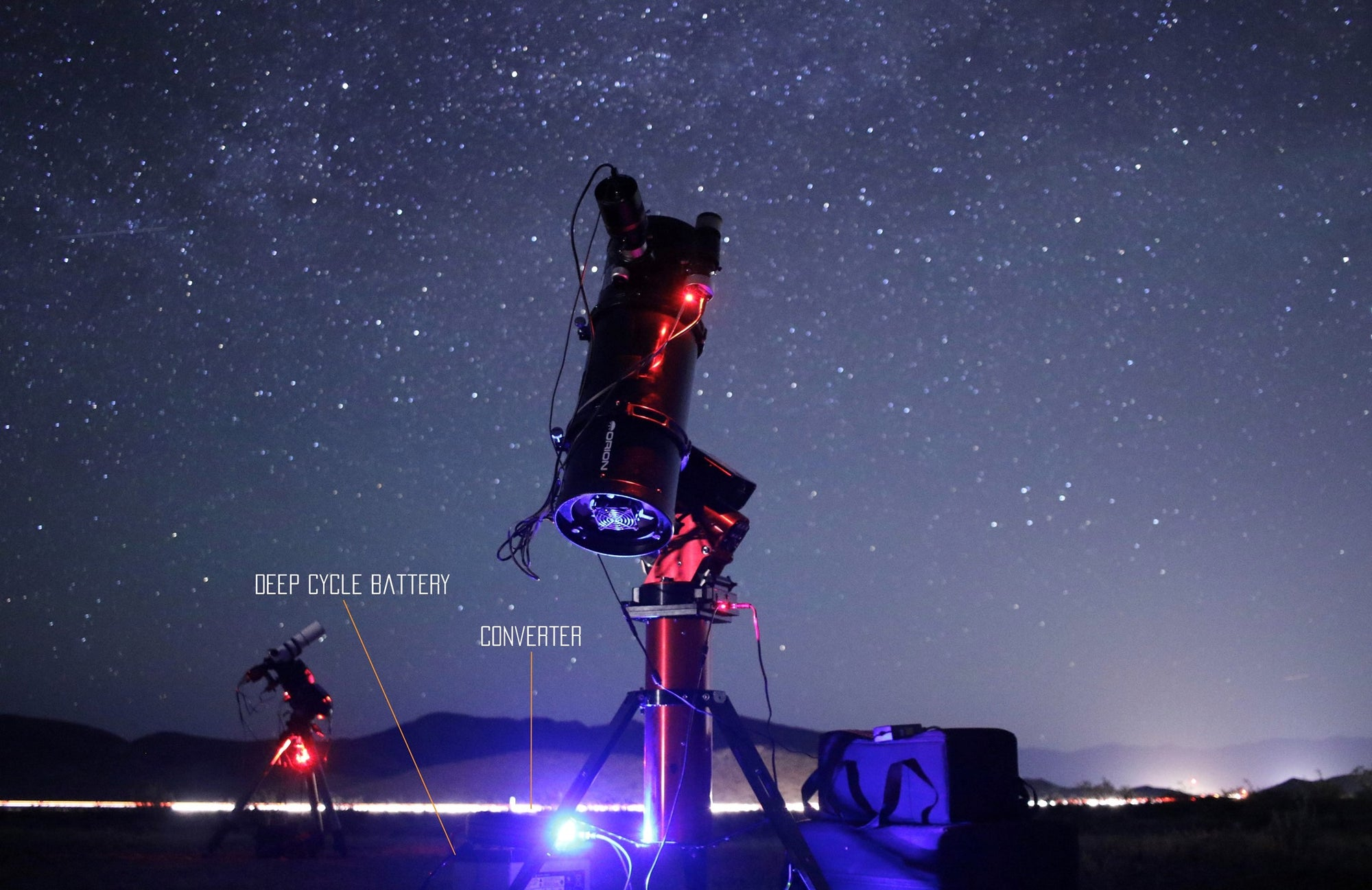Telescope Power for Astrophotography - at Home & On the Go