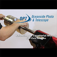 Balancing an Equatorial Mount