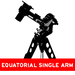 Equatorial Single Arm Mounts