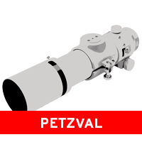 Petzval Telescopes