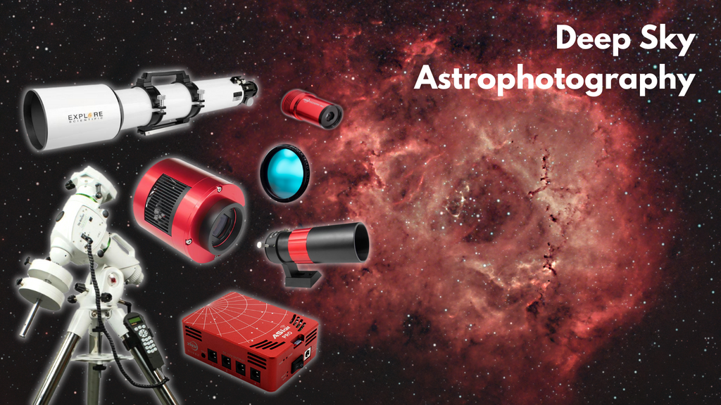 Astrophotography with a Telescope