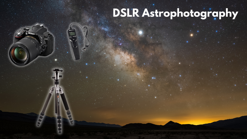Astrophotography with a DSLR | OPT