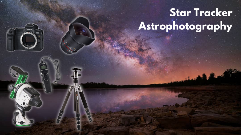 Astrophotography with a Star Tracker