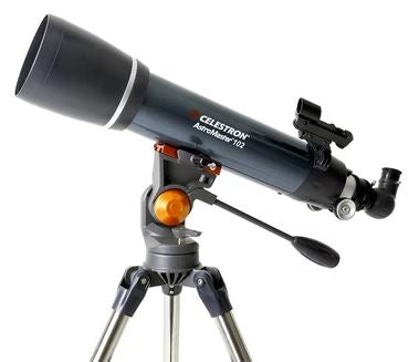 Best visual telescope for beginners- Celestron AstroMaster 102AZ