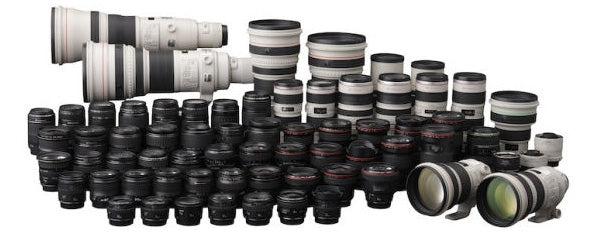Canon EOS lens line-up