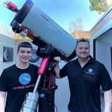 professional backyard astronomy asteroid hunters