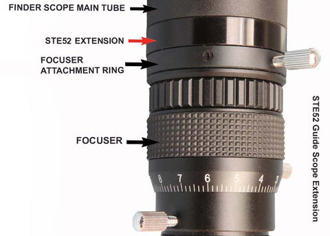 Stellarvue M52 Extension Tube- 15 mm