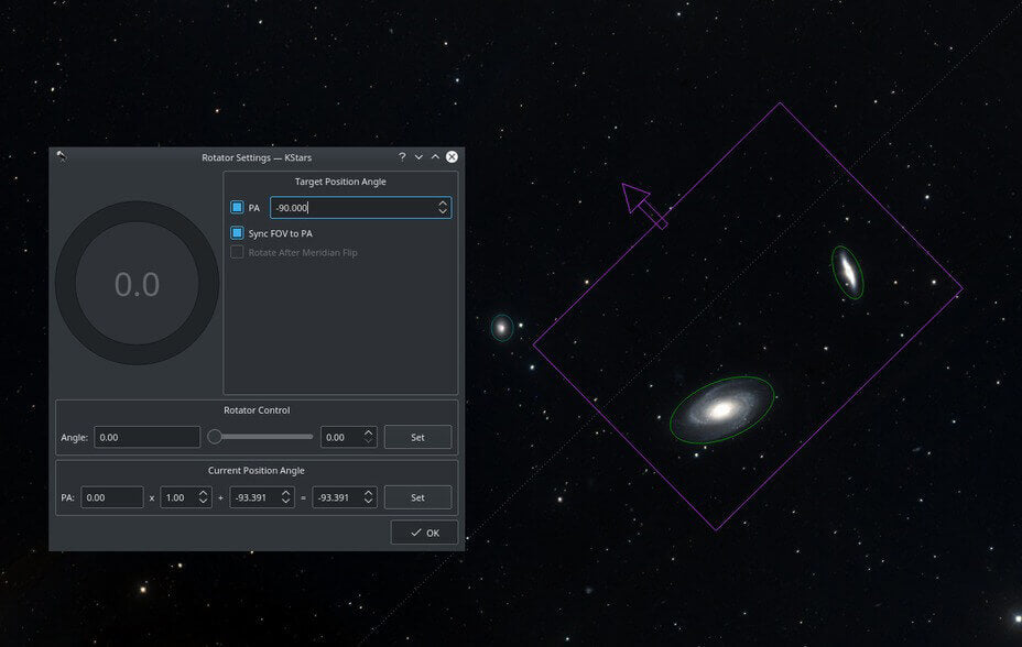 Wi-Fi Astrophotograph System Controller Equipment Powerful Capture Tool Screenshot