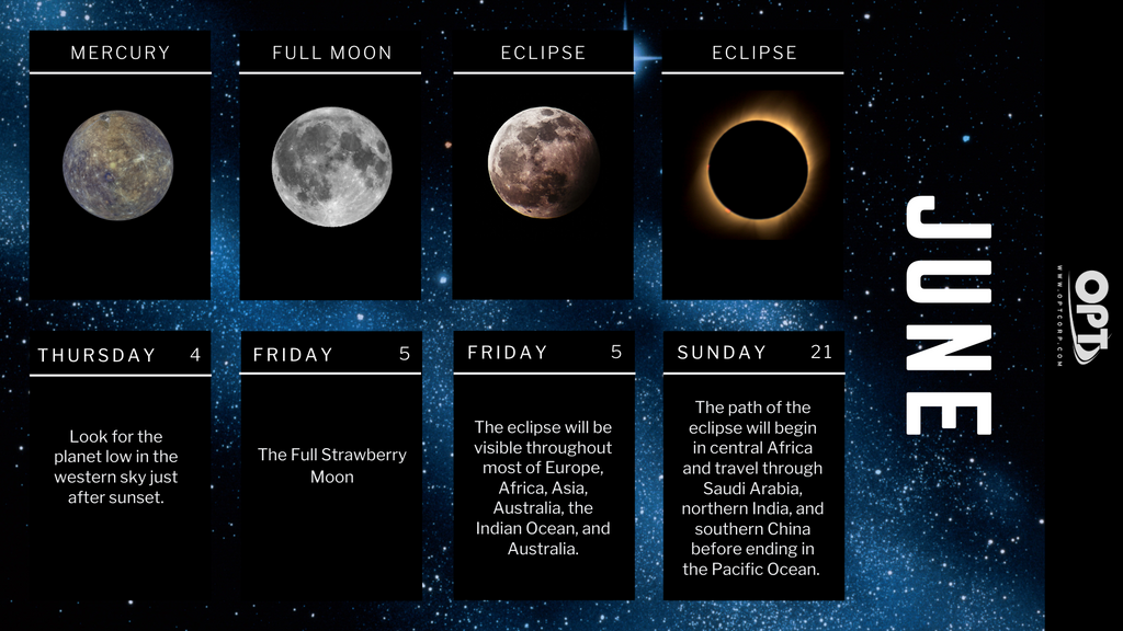 What's in the Sky June 2020 Astronomy Events - 1