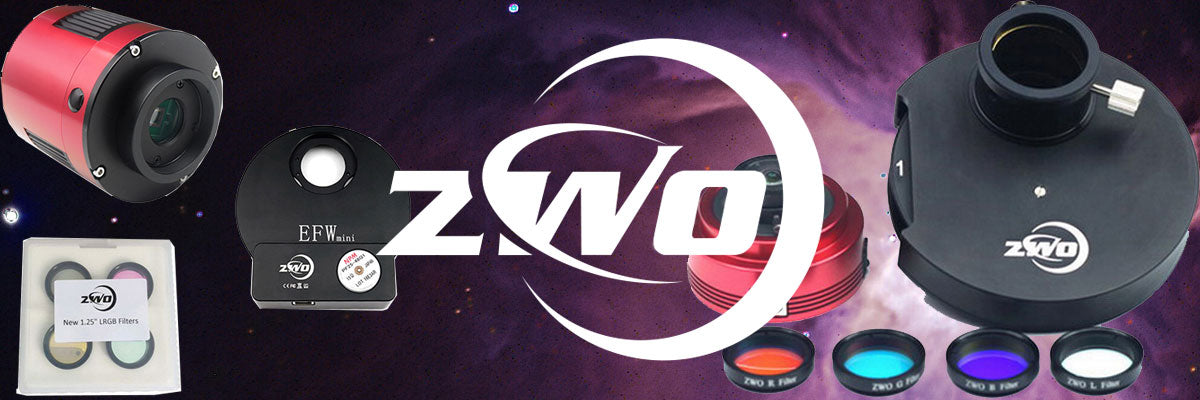 ZWO Astrophotography Cameras
