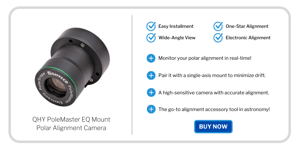 astrophotography gift guide - qhy polemaster