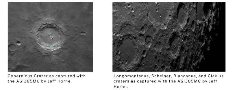 The Best Planetary and Lunar Astrophotography Cameras - pictures 2 - ZWO ASI385MC