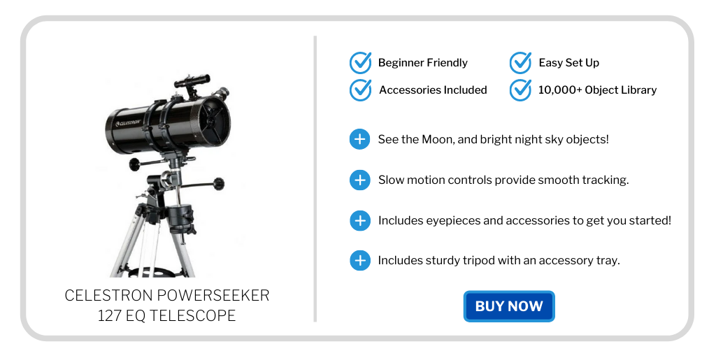 best beginner telescopes under 300 - celestron powerseeker