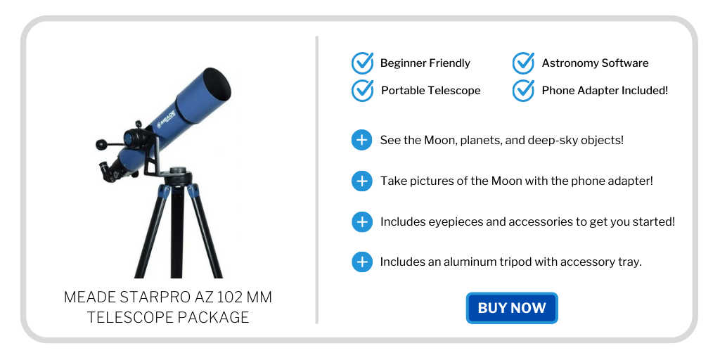 best telescopes under 300 - meade starpro az package