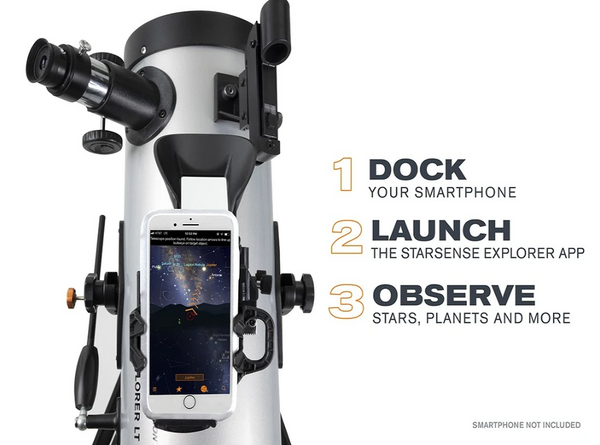 How to use the celestron starsense explorer