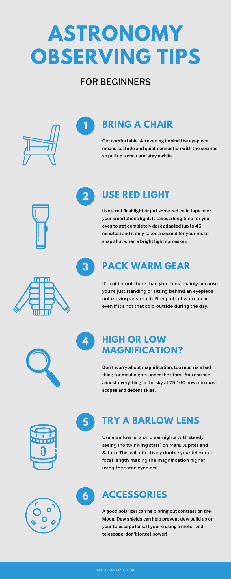 How to Use a Telescope for Beginners Guide Infographic - 8