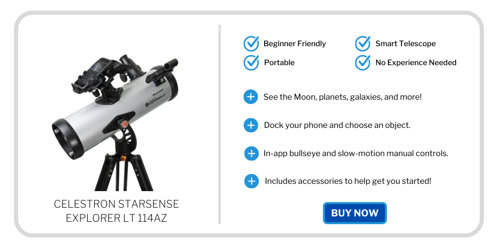 best telescopes under 300 - celestron starsense 114az