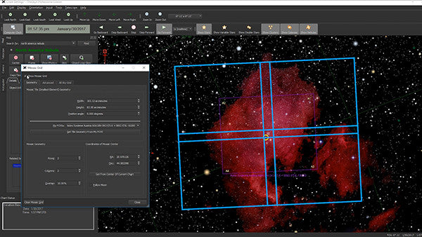 theskyx-mosaic grid display results