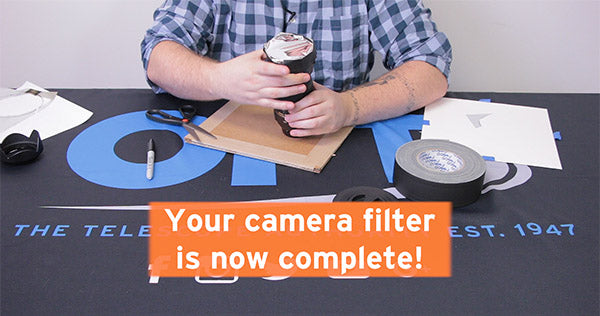 your camera filter is now complete